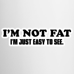 I'm Not Fat Bottles & Mugs - Mug