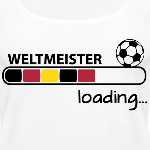 Weltmeister loading... Tops - Frauen Premium Tank Top