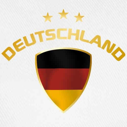 Fussball Deutschland Wappen gold