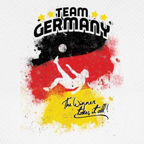 Team Germany - Team Deutschland - Flagge-BRD-Fahne
