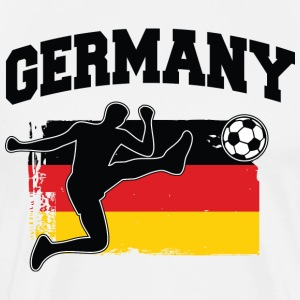 Germany Football / Soccer T-Shirts - Men's Premium T-Shirt