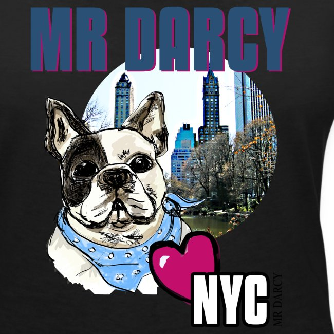Mr Darcy loves NYC  Damen, Baumwolle aus Ökologischer Herstellung