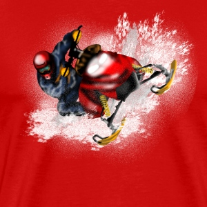 snowmobile T-shirts - Herre premium T-shirt