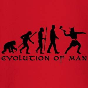 evolution_of_man_viking_a_1c Langarmshirts - Baby Langarmshirt