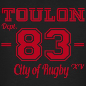 Toulon, city of rugby - T-shirt bio Homme