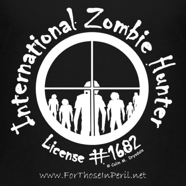 Teenager's T Shirt - International Zombie Hunter