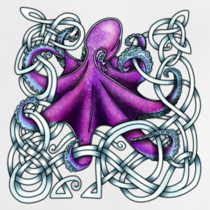 Celtic Octopus - Purple Baby Shirts  - Baby T-Shirt