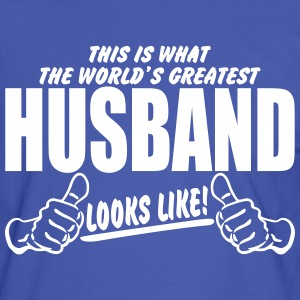 Worlds Greatest Husband Looks Like T-Shirts - Men's Ringer Shirt