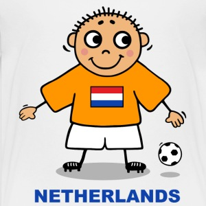 Football Player - Netherlands Shirts - Teenage Premium T-Shirt