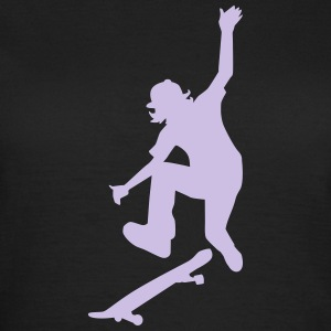 Skateboard T-Shirts - Frauen T-Shirt
