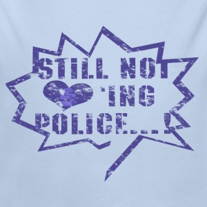 Not loving Police - Body bébé bio manches longues