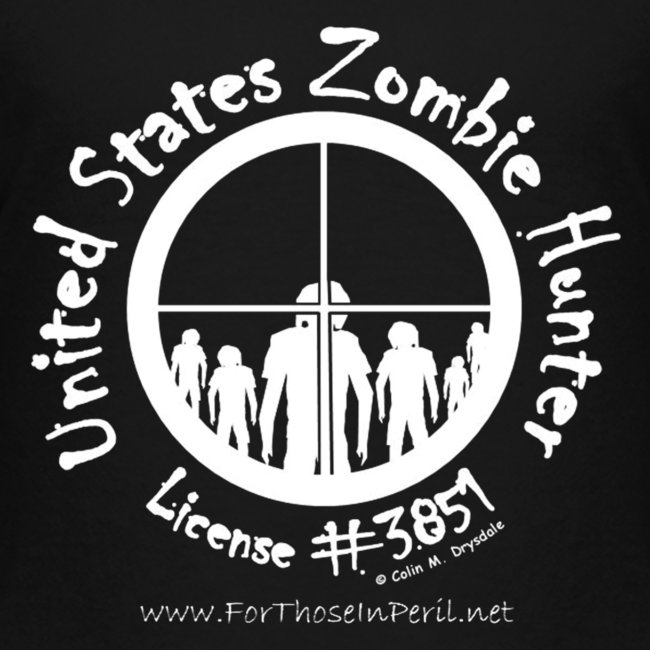 Children's T Shirt - United States Zombie Hunter