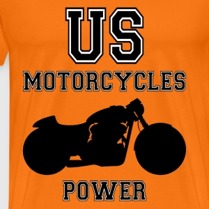us motorcycles power T-Shirts - Men's Premium T-Shirt
