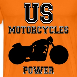us motorcycles power Tee shirts - T-shirt Premium Homme
