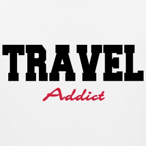 Travel Addict T-Shirts - Men's Premium Tank Top