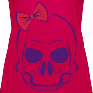 cute skull CUTE EDITION Tops - Women's Premium Tank Top
