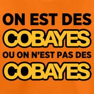 Motif ~ T-Shirt Couleur Ado On est Cobayes