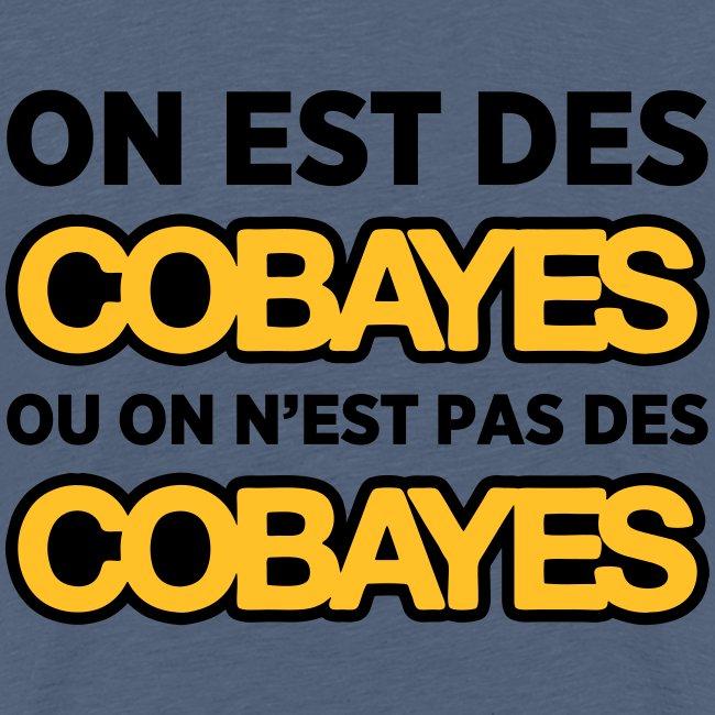 T-Shirt Couleur Ado On est Cobayes