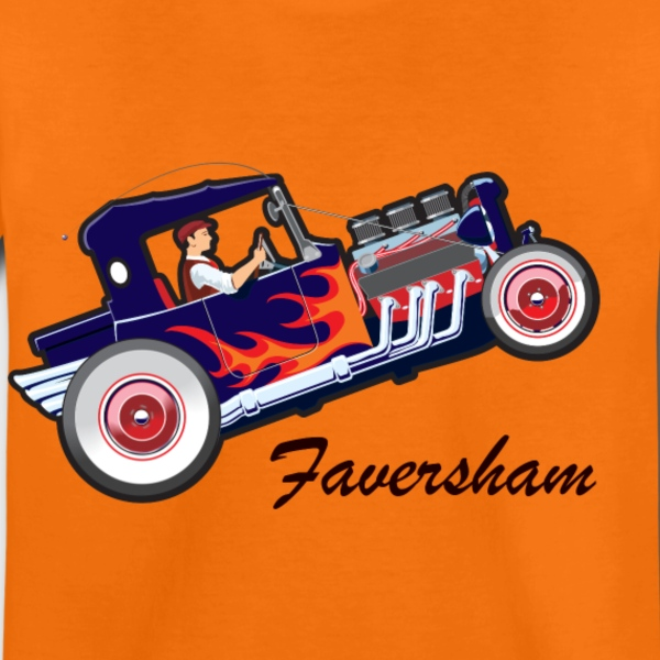 Faversham Hot Rod. - Kids' Premium T-Shirt