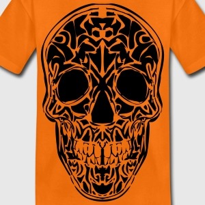 Tribal Totenkopf T-Shirts - Teenager Premium T-Shirt