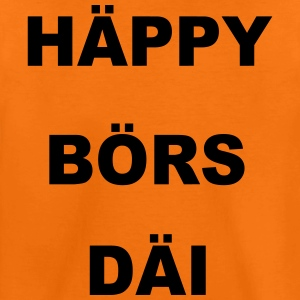 geburtstag Happy Birthday HÄPPY BÖRS DÄI - Kinder Premium T-Shirt