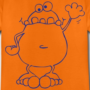 Funny Frog - Frogs Shirts - Teenage Premium T-Shirt