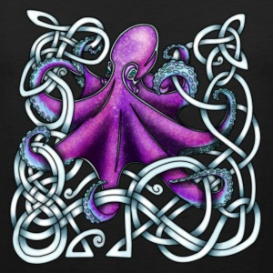 Celtic Octopus - Purple Sports wear - Men's Premium Tank Top
