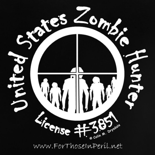 Baby's T Shirt - United States Zombie Hunter