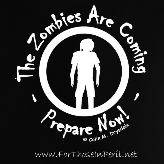 Baby's T Shirt - Zombies Are Coming