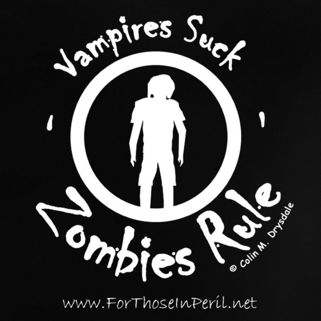 Baby's T Shirt - Zombies Rule