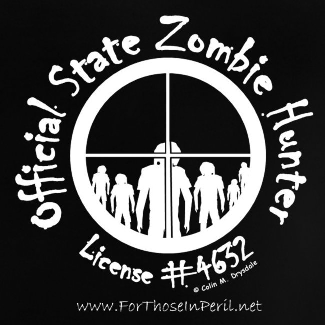 Baby's T Shirt - Official State Zombie Hunter