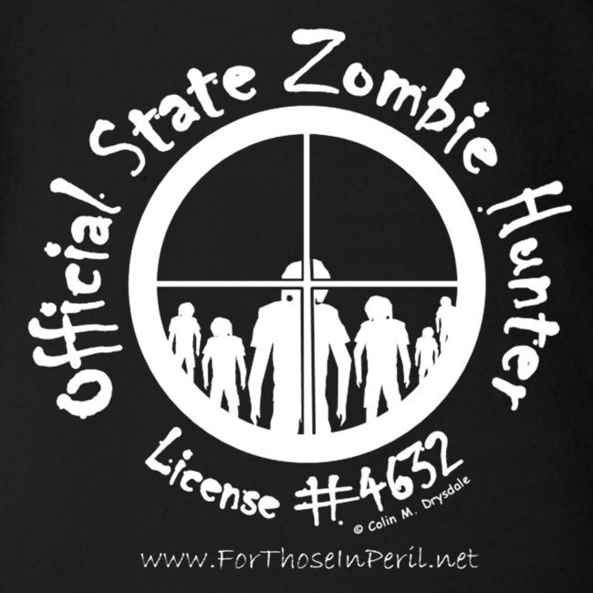 Baby Grow - Official State Zombie Hunter