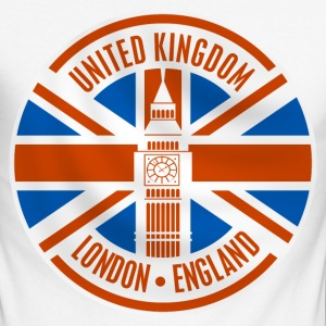 united kingdom - london Manches longues - T-shirt baseball manches longues Homme