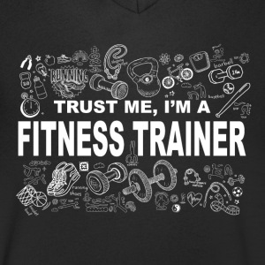 Trust me fitness trainer Tee shirts - T-shirt Homme col V