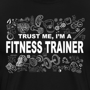 Trust me fitness trainer Tee shirts - T-shirt Premium Homme