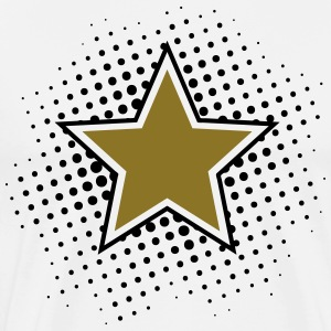 Star, Dots, Hero, Winner, Champion, Member, Team,  - Männer Premium T-Shirt