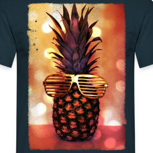 grill glass pineapple - grill brille ananas T-Shirts - Men's T-Shirt