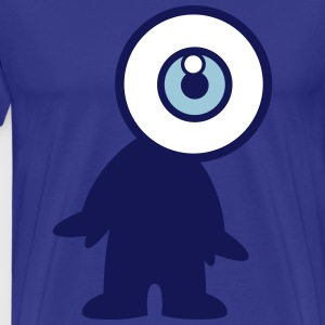 Mr Eyeball by Cheerful Madness!! T-Shirts - Men's Premium T-Shirt