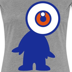 Mr Eyeball by Cheerful Madness!! T-Shirts - Women's Premium T-Shirt