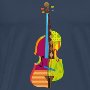 A colorful violin  T-Shirts - Men's Premium T-Shirt