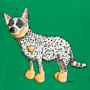 Funny Australian Cattle Dog - Dogs T-Shirts - Men's Premium T-Shirt