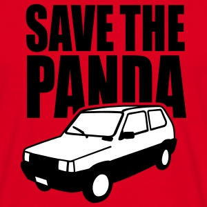 Save the Panda (Fiat Seat) Camisetas - Camiseta hombre