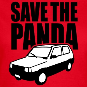 Save the Panda (Fiat Seat) Camisetas - Camiseta mujer