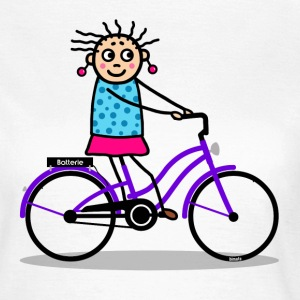 E-bike - ladies bike purple T-Shirts - Women's T-Shirt
