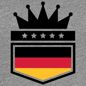 Coat of arms banner King Germany T-Shirts - Women's Premium T-Shirt