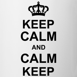keep_calm_and_calm_keep_g1 Flaskor & muggar - Mugg