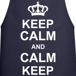 keep_calm_and_calm_keep_g1  Aprons - Cooking Apron