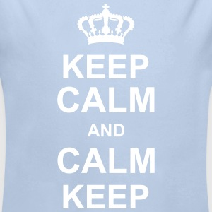 keep_calm_and_calm_keep_g1 Gensere - Økologisk langermet baby-body