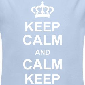 keep_calm_and_calm_keep_g1 Sudaderas - Body orgánico de manga larga para bebé