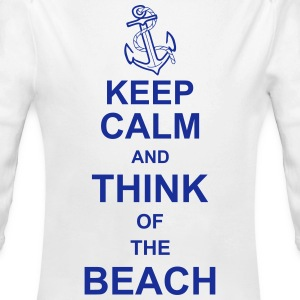 keep_calm_and_think_of_the_beach_g1 Hoodies - Longlseeve Baby Bodysuit
